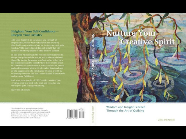 Vikki's Newest Book. Nurture Your Creative Spirit